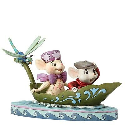 NEW OFFICIAL Disney Traditions Bernard & Bianca / The Rescuers Figurine 4055405