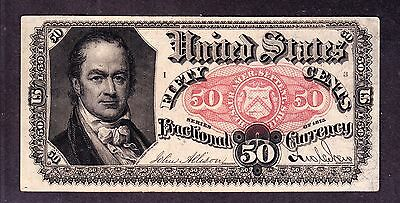 US 50c Fractional Currency 5th Issue Pos I 3 FR 1380 Ch CU