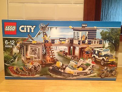 Lego CITY 60069 Swamp Police Station  Brand new,factory sealed