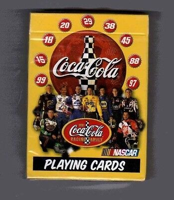 New Deck Of Coca-Cola  Nascar Playing Cards