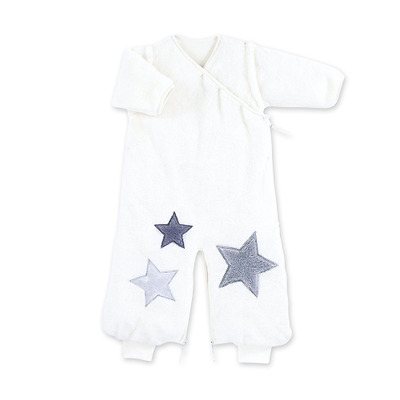 Bemini by Baby Boum Gigoteuse naissance hiver 0-3 Mois Softy STARY Ecru TOG 2.3