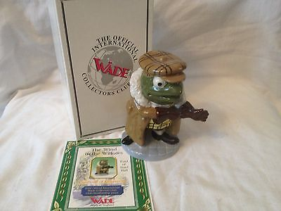 Wade Wind in the willows Toad special edition figure