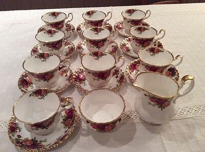 Royal Albert Bone China Old Country Roses (Never Been Used)