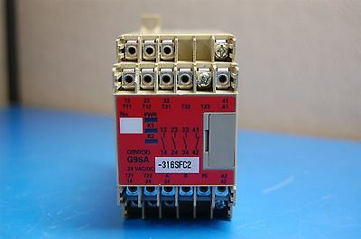 Omron Safety Relay Unit 24Vac/dc G9Sa-301
