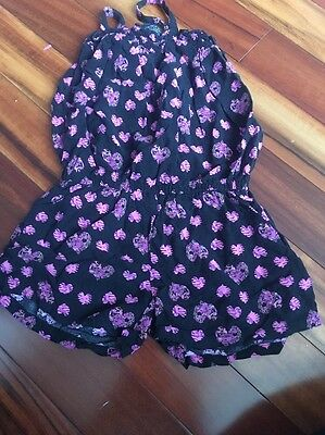 Girl Size Extra Small 4-5 Romper One Piece