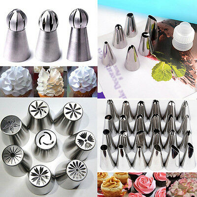 Russian Flower Icing Piping Nozzle Cake Decoration Tips Baking Kitchen Tools Kit