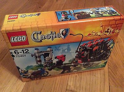 Lego Castle 70401 Gold Getaway - Discontinued - Brand New And Sealed