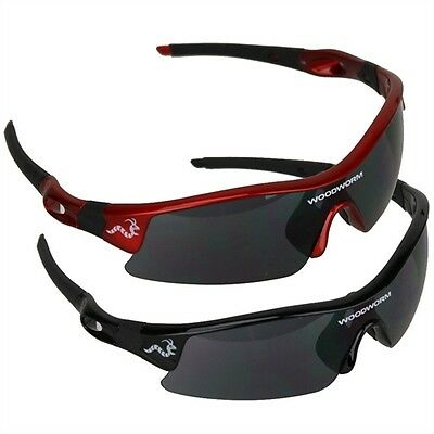 Woodworm Pro Sunglasses one  Red or Black Frames