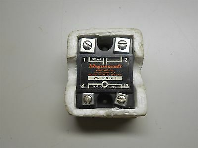 New Magnecraft Solid State Relay 120 Vac Pn:w6110Dsx-1