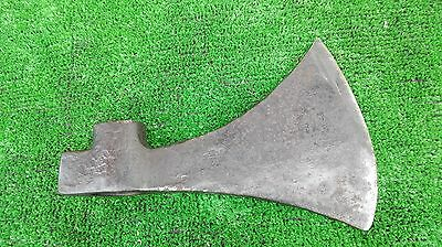 Vintage french metal axe head