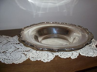 Rogers Silver Plated Wellington Serving Bowl 1135