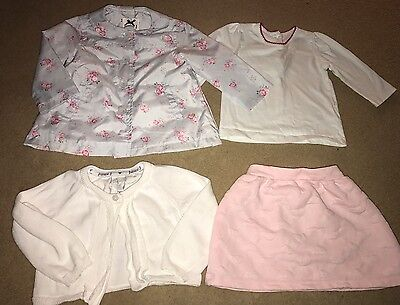 Bundle Of Baby Girls Clothes 6-9 Months (4 Items)