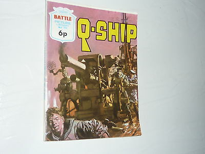 Battle Picture Library Comic Magazine No784 Q Ship U Boat WW2 Royal Navy WWII