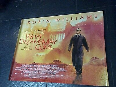 double sided cinema poster robin williams what dreams may come
