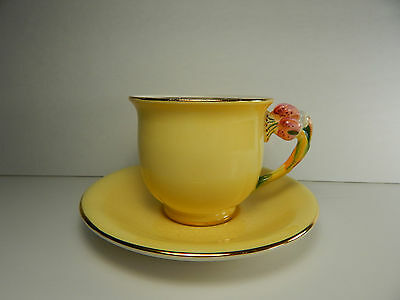 Royal Winton Grimwades Yellow small Tea Cup and Saucer