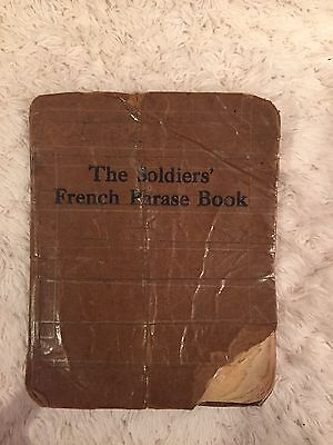 Id'ed The Soldiers French Phrase Book 42nd C.A.C.