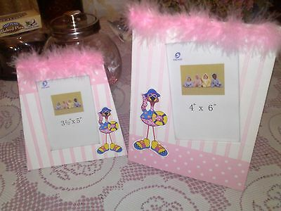 Pink Photo Frames  Two Of Them  For A Beautiful Little Girl