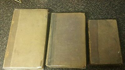 3 Vintage Books 1821, 1828 and 1844