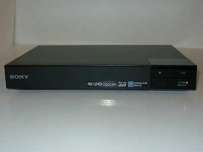 Sony BDP-S6500 1080P 3D Blu-Ray Player 4K Upscaling with Wi-Fi