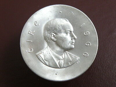 Ireland - 1966 Uncirc. 'easter Rising / Patrick Pearse' Silver Ten Shilling Coin