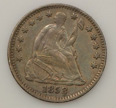 1858-P Seated Liberty Silver Half Dime *G29