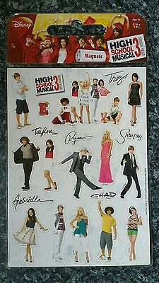 High school musical 3 magnets. New in packet.
