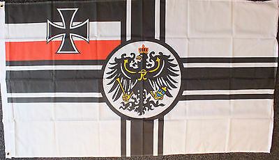 WW1 Imperial 5x3 Flag WW2 German Oi Nationalist 1914 1918 Wehrmacht Panzer