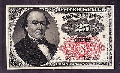 US 25c Fractional Currency FR 1308 Pos C 11 Ch CU