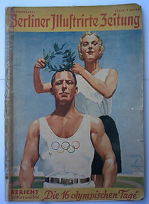 Orig.PRG / Photo Guide   XI.Olympic Games BERLIN 1936  //  Edt. 2  !!  RARITY