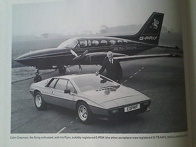 The Third Generation Lotuses Book A Collector's Guide Graham Robson Esprit etc
