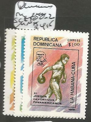 Dominican Republic SC 1100-2 MNH (1cqb)