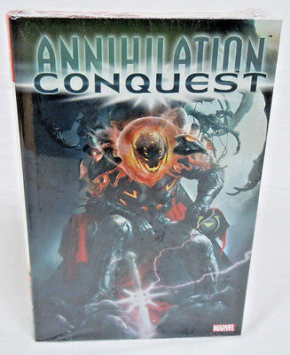 Annihilation Conquest Groot Drax Omnibus Marvel Brand New Factory Sealed $125