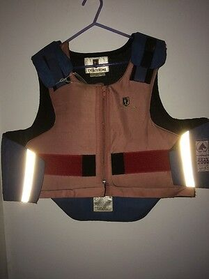 Treadstone XL Child's Pink And Blue Body Protector