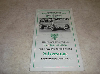 Silverstone 27Th April 1968 Daily Express Trophy