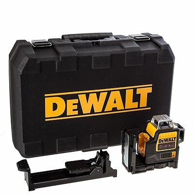 DeWalt DCE089NR-XJ 10.8v Self Levelling Multi Line Laser Red Bare Unit