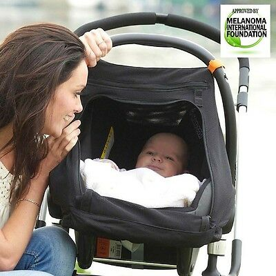SnoozeShade Sleep Shade For Infant Car Seat  Group 0 and 0+ Stage 1 from birth