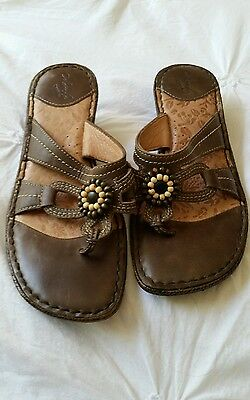 Colorado Opanka Womens Leather Sandals Shoes Size 7 Exc
