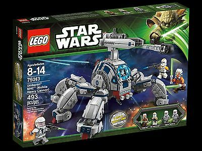 LEGO Star Wars 75013 Umbaran MHC Mobile Heavy Cannon 493 pcs! RETIRED Brand New!