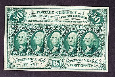 """US 50c Fractional Currency w/ """"ABC"""" 1st Issue FR 1312 VF-XF (-004)"""