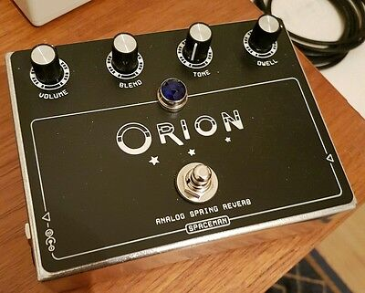 Space man Orion spring reverb guitar effect