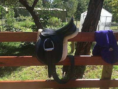 Bates Caprilli All Purpose Saddle 17.5""