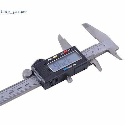 Stainless Steel Digital Electronic LCD Digital Vernier Caliper Micrometer Tool