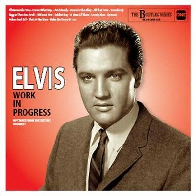 ELVIS PRESLEY The Bootleg Series - ELVIS WORK IN PROGRESS vol 1 RARE  CD