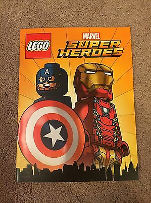 2016 Sdcc Comic Con Lego Marvel Super Heroes Promo Comic Book Iron Man Poster!!