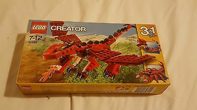LEGO CREATOR 3 in 1 RED CREATURES 31032 NEW SEALED