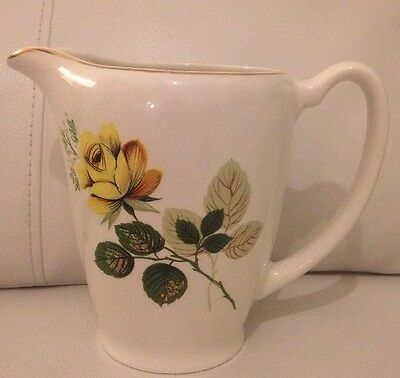 Vintage LORD NELSON POTTERY Jug.  Lovely Floral Pattern
