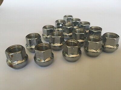 "Ford - Ford Falcon 20 pcs Open End Chrome Wheel Nuts.1/2""UNF"