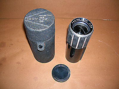 """Kodak Ektanar""??   4"" to 6"" F:3.5 Projection Zoom Lens In Leather Case"