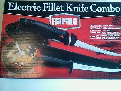 Rapala Electric Filet Knife Set