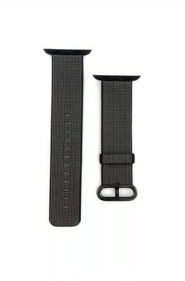 NEW Genuine Apple Woven Nylon Band for Watch 42mm MM9Y2AM- Black - FREE SHIPPING
